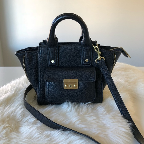 7952a9fc11 3.1 Phillip Lim for Target Handbags - 3.1 Phillip Lim x Target black mini crossbody  bag